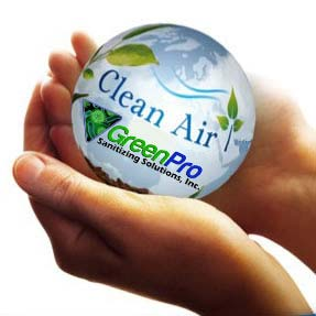 Clean Air from GreenPro Sanitizing Solutions